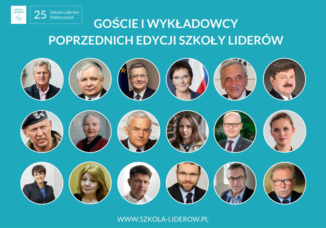 Goście i wykładowcy poprzednich edycji Szkoły Liderówla (1)