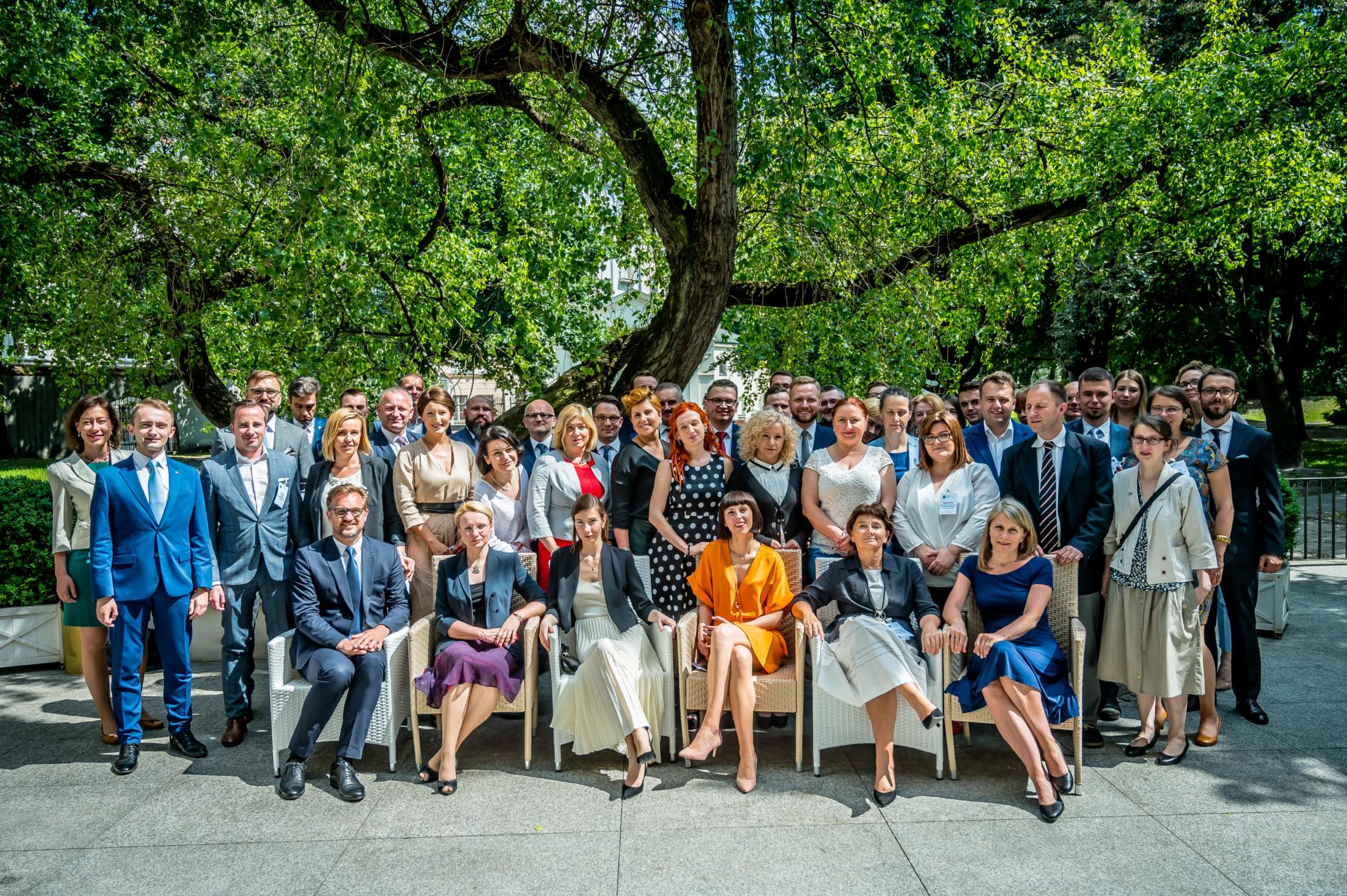 Inauguracja 27. Szkoły Liderów Politycznych, 6 czerwca 2019, Hotel Bellotto w Warszawie. (c) fot: Beata Czarnecka